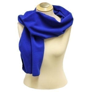 "Wholesale Royal Blue Polar Fleece Scarf (12"" X 63"")"