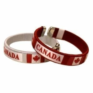 Wholesale Canada Flag Bracelet