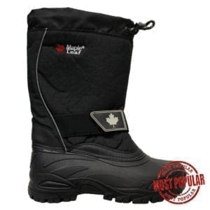 Wholesale Men's Nylon Winter Boots With Velcro (Size 7-12)