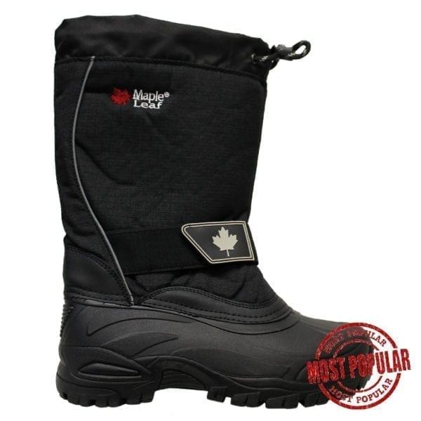 Wholesale Men's Nylon Winter Boots With Velcro (Size 7-12)