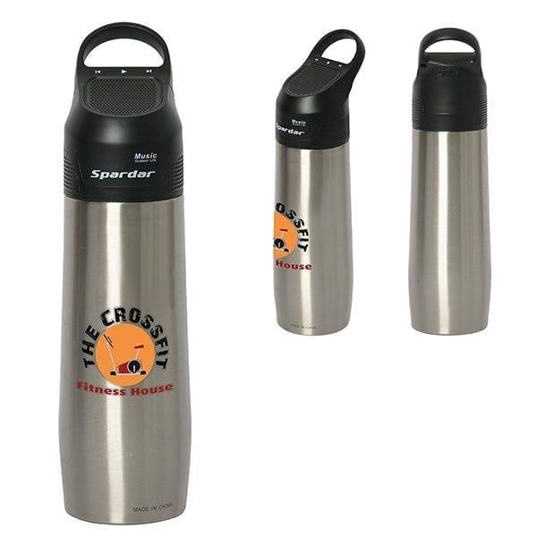 Custom Water Bottle With Speaker - 750ML