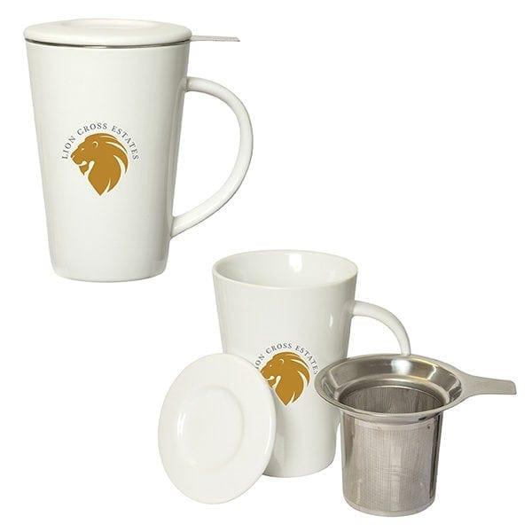Custom Tea Infuser Mug - 350ML