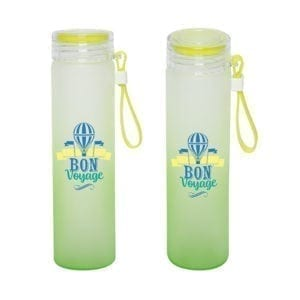 Custom Glass Water Bottle - 450ML