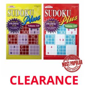 Wholesale Sudoku Plus PuzzleActivity Book (5″ x 8″)