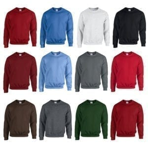 Wholesale Men's Sweaters - Crew Neck (Size S-XL)
