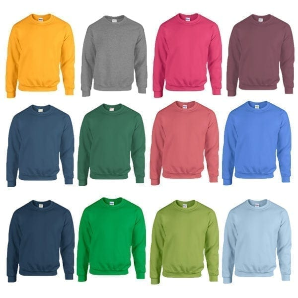 Wholesale Men's Sweaters - Crew Neck (Size 3XL - 5XL)