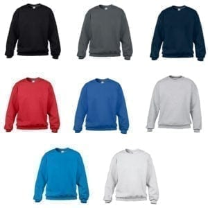 Wholesale Men's Sweaters - Crew Neck (Size 3XL)
