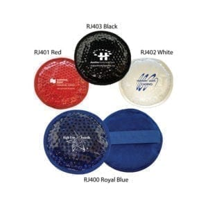 Plush Round Gel Bead Hot/Cold Packs