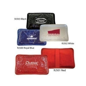 Plush Rectangle Gel Bead Hot/Cold Packs