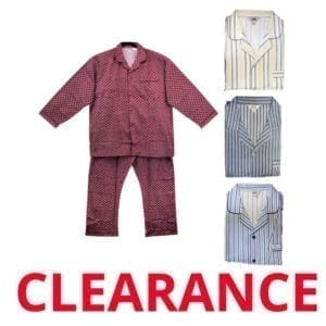Wholesale Men's/Unisex Over Size Pajama Sets (Size 2XL-4XL)