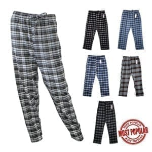 Wholesale Men's/Unisex Flannel Pajama Pants (Size M-2XL)