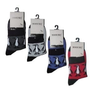 Men's Penguin Classical Socks (Size 26 - 28 cm)