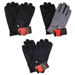 Wholesale Adult Faux Suede Gloves