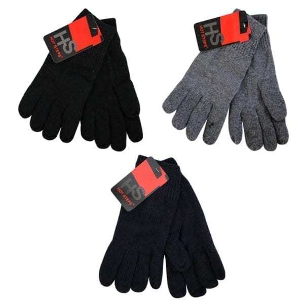 Wholesale Adult Knit Gloves With Fleece Lining
