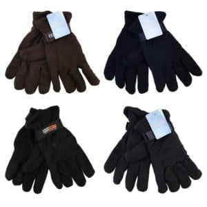 Wholesale Men's/Unisex Fleece Gloves