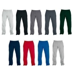 Wholesale Men's Sweatpants - Open Bottom (Size 3XL - 5XL)