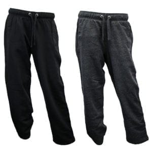Wholesale Men's Sweatpants - Open Bottom (Size S-2XL)