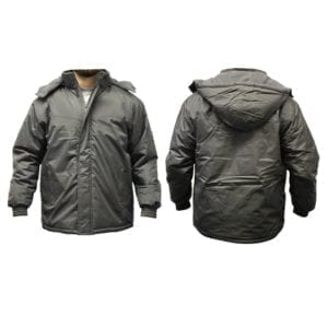 Wholesale Men's Dark Grey Winter Jacket (Sizes S - 2XL)
