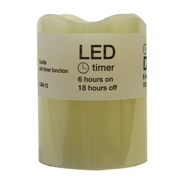 Wholesale Flameless Candle with Timer (3.5 LED)