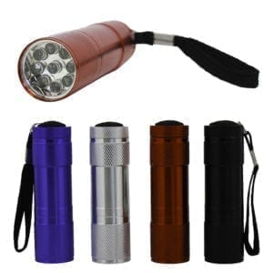 Wholesale 9 LED Mini Flashlight