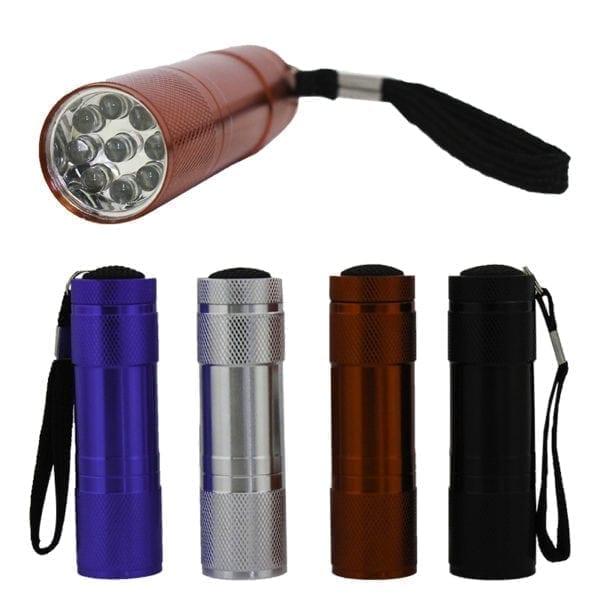 Wholesale 9 LED Mini Flashlight