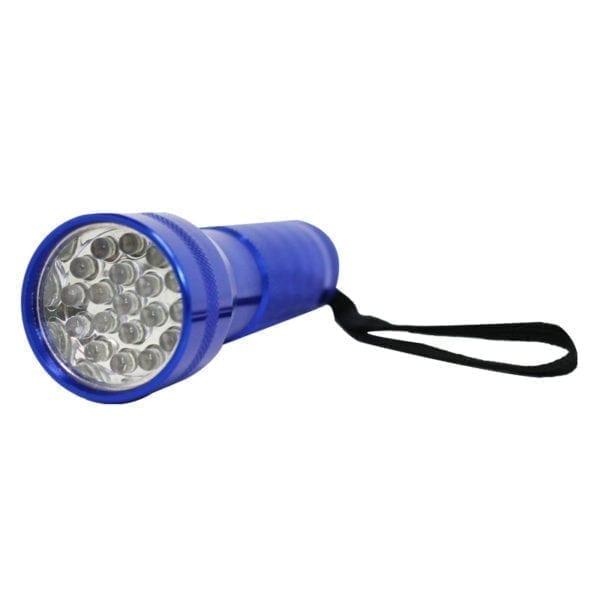 Wholesale Metal 19 LED Flashlight