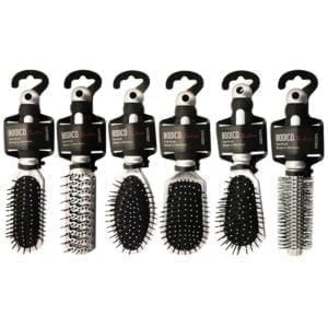 "Wholesale Bodico 9"" Hair Brush - Assorted Styles"