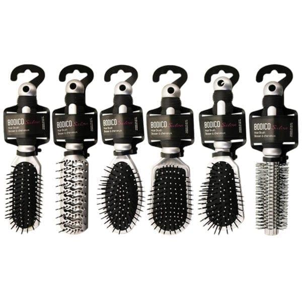 "Wholesale Bodico 9"" Hair Brush - Assorted Styles"