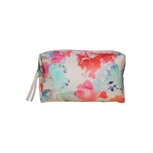 Floral Watercolor Make-Up Pouch