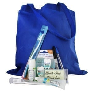 Global Brigade Nicaragua Medical Kit (Environmentally Friendly) - 9 Items
