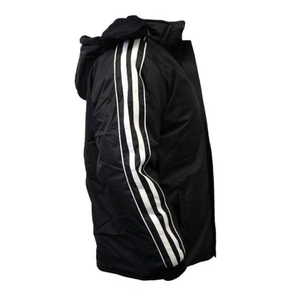 Wholesale Men's Black Winter Jacket With Stripes (Sizes S - 2XL)