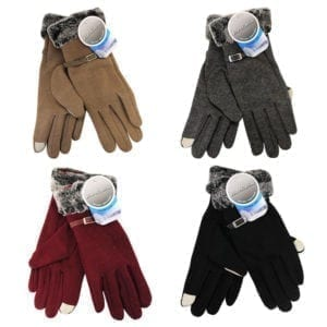 Wholesale Ladies' Touch Screen Gloves With Strap