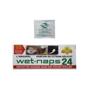 Wet-Naps Moist Towelettes - Lemon Scented (24 PCS)