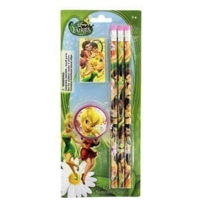 Wholesale Disney Fairies Stationery Set (5 pcs)