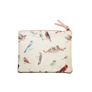 Wholesale Ladies Bird Motif Pouch