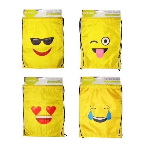 Wholesale Emoji Drawstring Backpack
