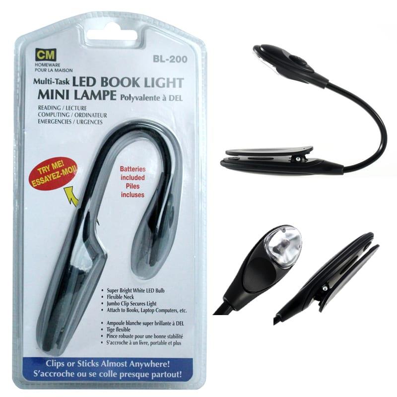 Lampe de Lecture Lampe De Lecture Flexible 3 Led Clip On Light Book Super Bright Usb Light