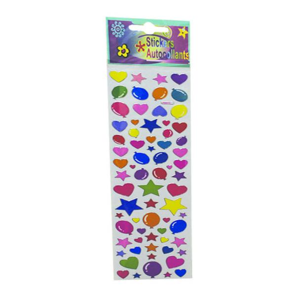 Wholesale Stickers - Heart/Balloon/Stars