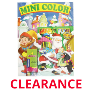 Wholesale Christmas Activity Set Book With Crayons