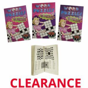 Wholesale Crossword PuzzleActivity Books
