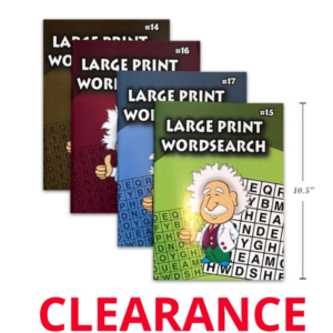 Wholesale Large Print Word Search