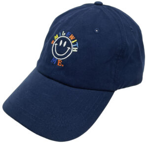 CUSTOM Unconstructed Brushed Cotton Cap NAVY