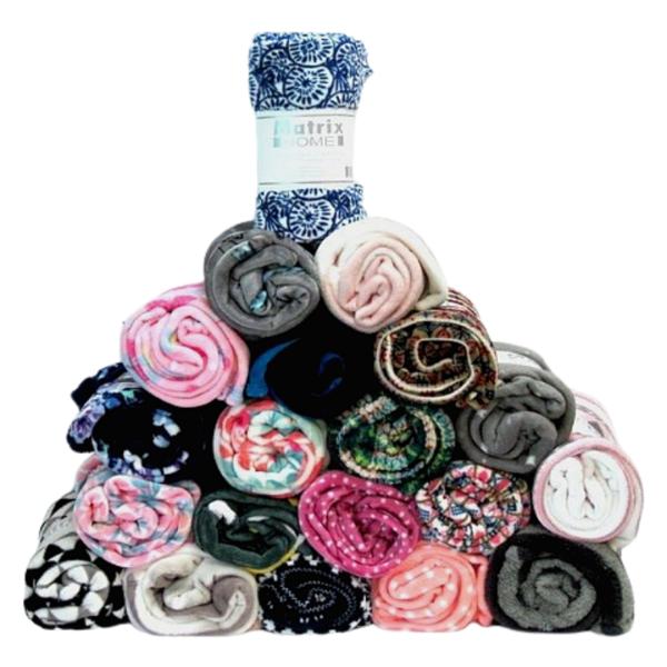 wholesale coral fleece throw blanket 50x60