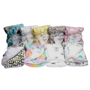 wholesale kids mink and sherpa blanket - Assorted prints