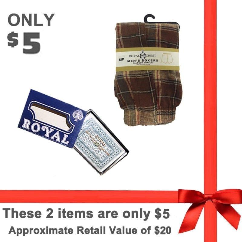 Senior Citizen Men's $5.00 Gift Pack